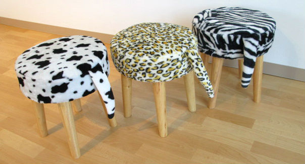 ヤマソロ どうぶつスツール ZOO 椅子 動物 チェア 栃木県家具 インテリア 東京デザインセンター