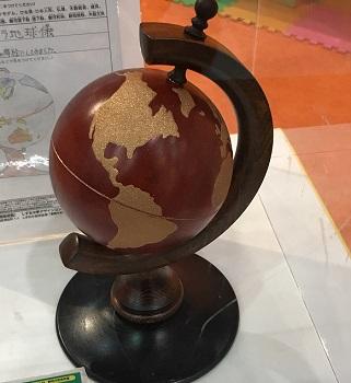 シズオカ KAGUメッセ2018 地球儀 家具 インテリア 東京インテリア 東京デザインセンター 栃木県鹿沼市