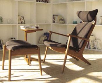 リクライニングチェア 一人掛け椅子 ポポル POPOLU 光製作所 栃木県 家具 インテリア