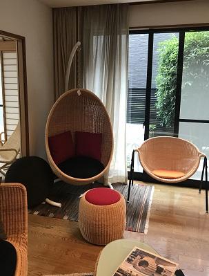 エッグチェア ラタン ヤマカワラタン 籐 家具 インテリア 東京デザインセンター 東京インテリア 栃木県家具 鹿沼市