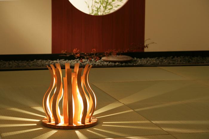 TEORI テオリ 竹 ランプ 照明器具 和室 和モダン インテリア 栃木県家具 東京デザインセンター