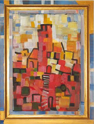Dorfkirche, 40x60, 2002