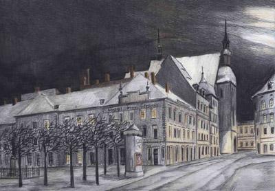 Görlitz - Marienplatz, um 1900