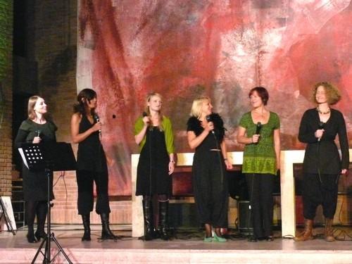 """Chorfestival """"Grün ist die Liebe"""" 2009 in Martin-Luther-Kirche Köln-Südstadt"""