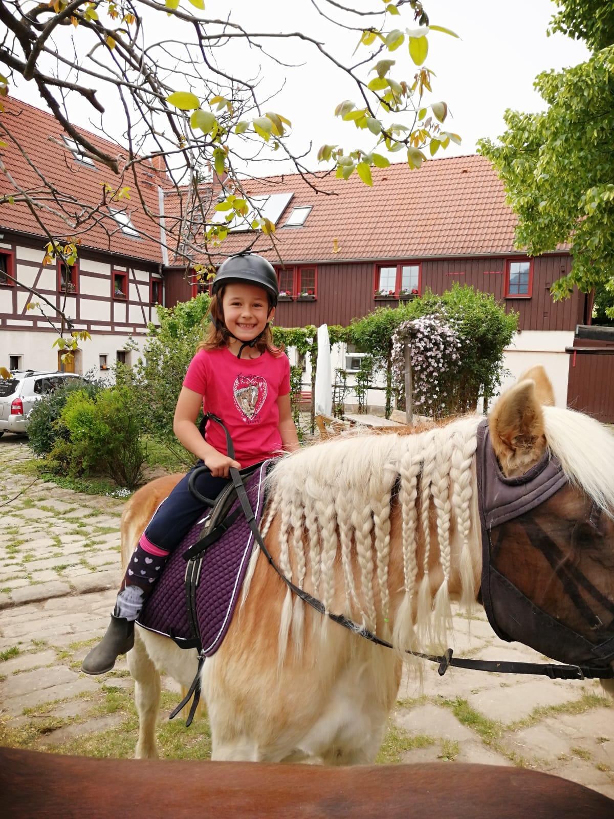 Reiterhof Wacker - Kinderreiten in der Sächsische Schweiz