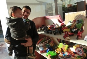 Bonheur au rayon jouets