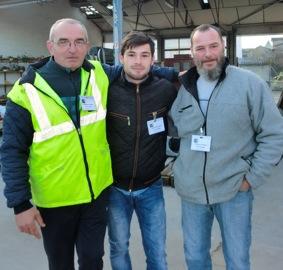 Christian, Fabrice et Sazan