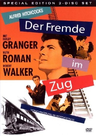 "Der Fremde im Zug (1951)  ""Strangers on a Train"" (original title)"