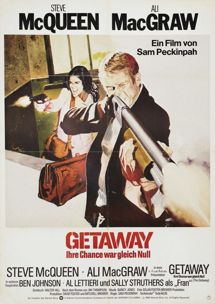 "Ein Mann explodiert (1972)  ""The Getaway"" (original title)"