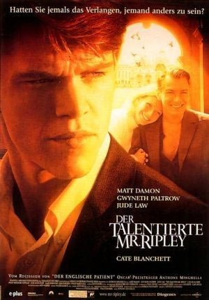 "Der talentierte Mr. Ripley (1999) ""The Talented Mr. Ripley"" (original title)"