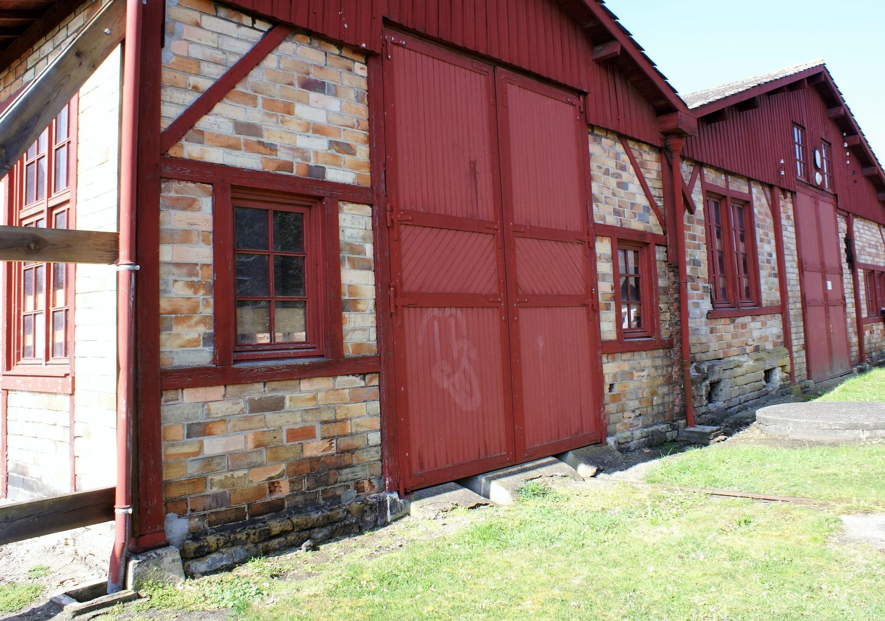 Les anciens ateliers ferroviaires de Saint Symphorien