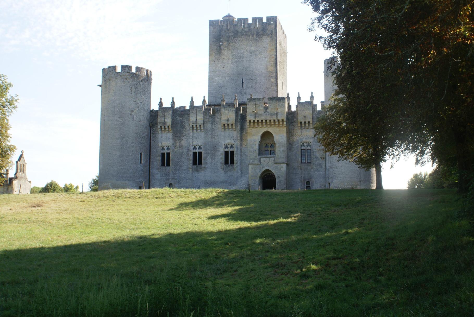 Le château de Roquetaillade