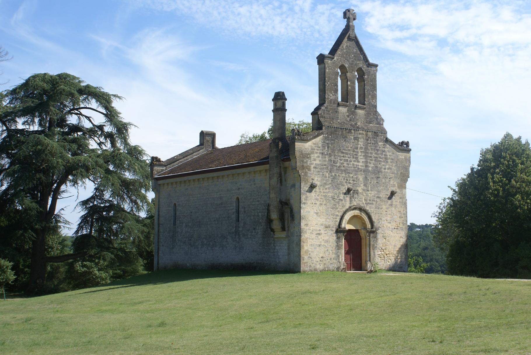 La chapelle du Château de Roquetaillade