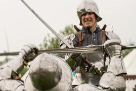siloah ritterkämpfe mit mus rusticus beim mittelalterlichen blütenfest-in neufrankenroda 2014