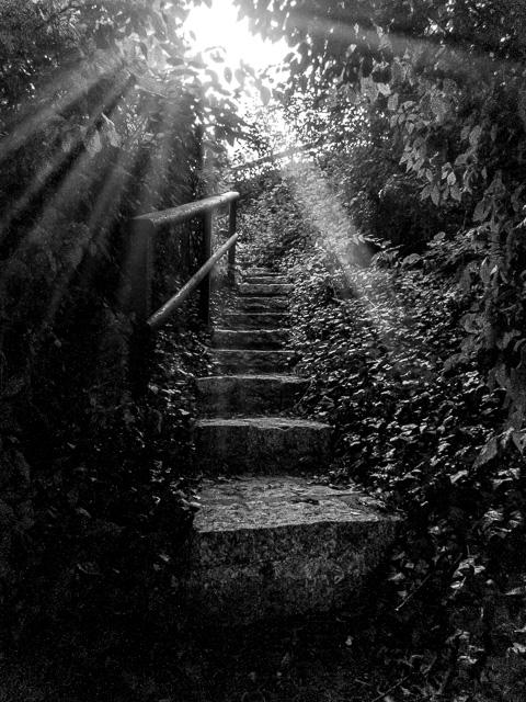 Geheime Treppe in Röbel/Müritz