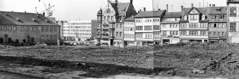 Gotha - Klosterplatz 1986