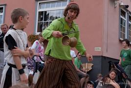 Die Radugas beim Lutherfest in Eisenach 2010