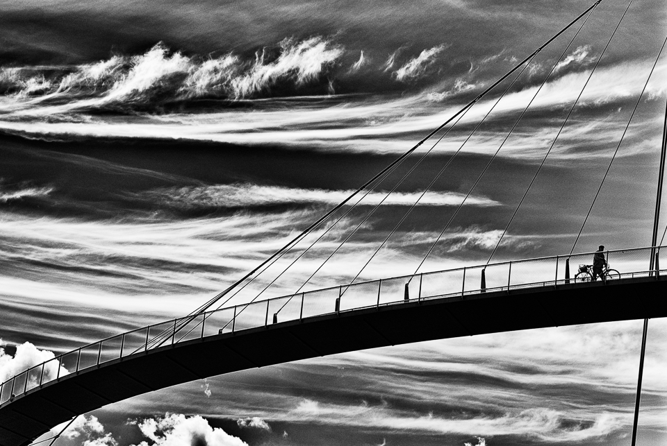 Wolkenbrücke in Sassnitz