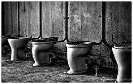 Toilettenbecken KDF Bad Prora Urbex Urban Exploration  Lost Places