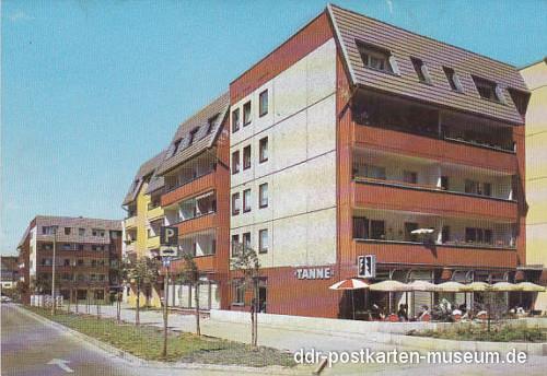 """Gotha - Gaststätte """"Tanne"""" Jüdenstrasse 1988"""