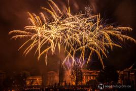 Feuerwerk Gothardusfest Gotha