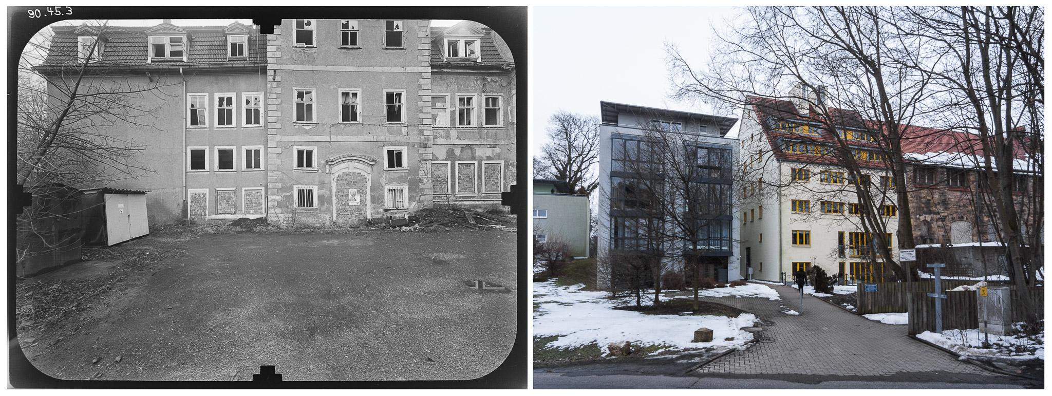 Die Alte Münze in Gotha- DDR 80er Jahre im Vergleich zu Heute - Gotha Gestern & Heute