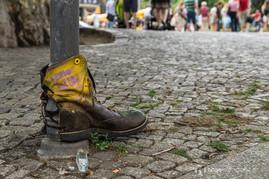 am albertplatz in dresden gesehen Schuhe Demo Kümmerling