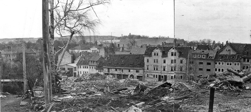 Gotha - Heinoldsgasse - 80er Jahre - Quelle: Gunter Neue