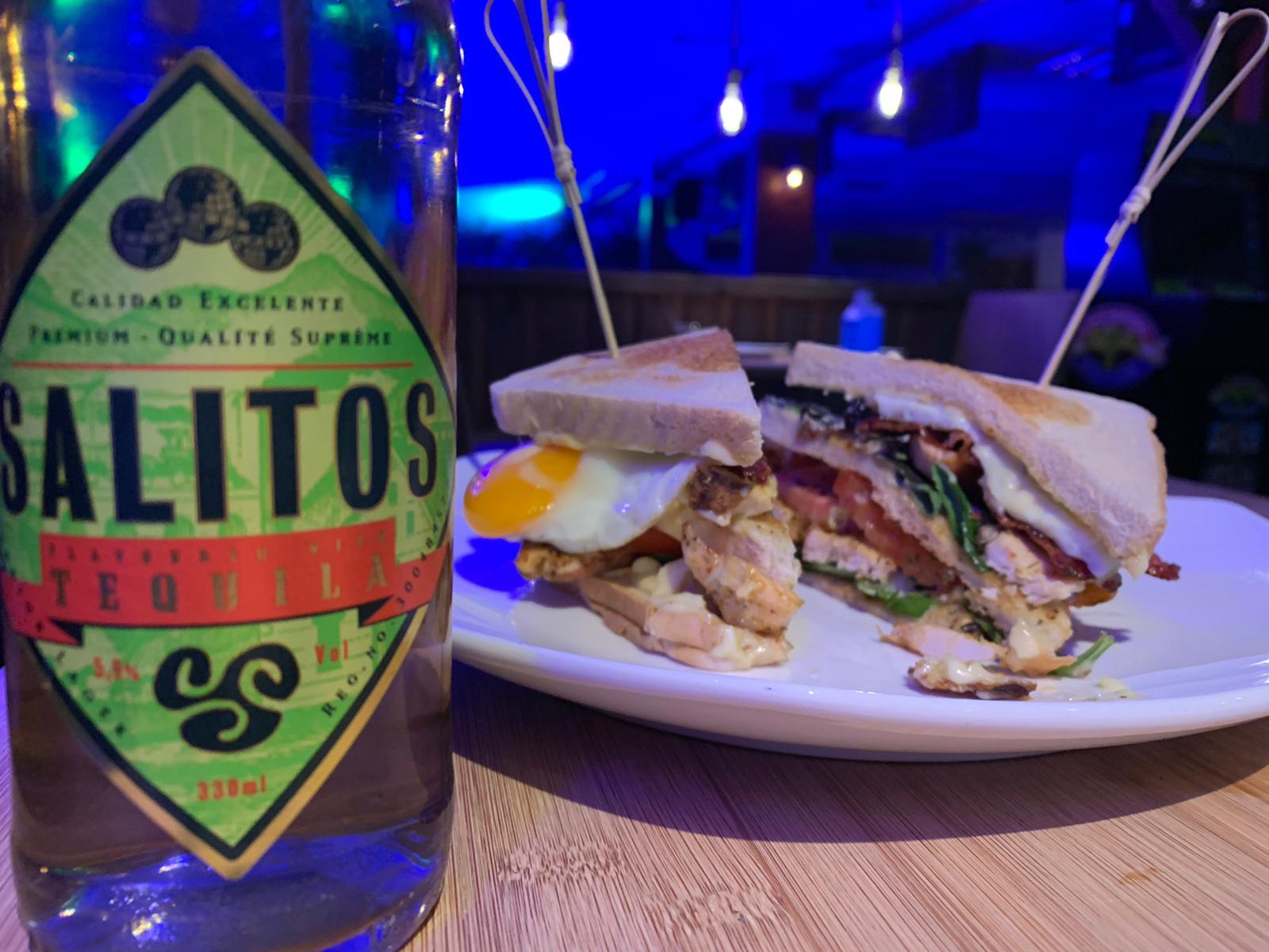 Club-Sandwich, eines unserer neuen Gerichte!