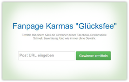 Facebook Fanpage Karma Glücksfee