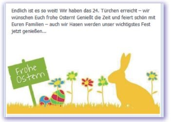 Fallstudie rabbit eMarketing Osterkampagne