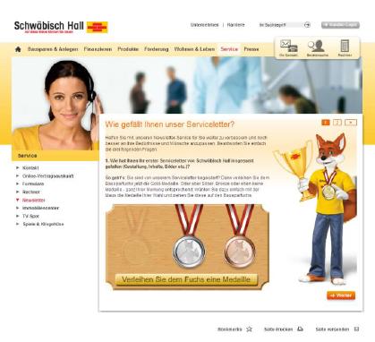 Service Mailing Fallstudie einer Online Dialog Marketing Agentur