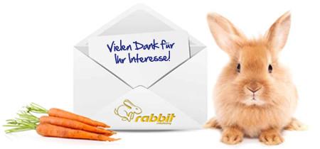 Anmeldung zum Newsletter von rabbit eMarketing