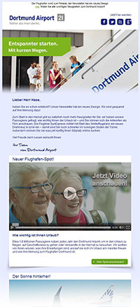 Video-Integration im Newsletter