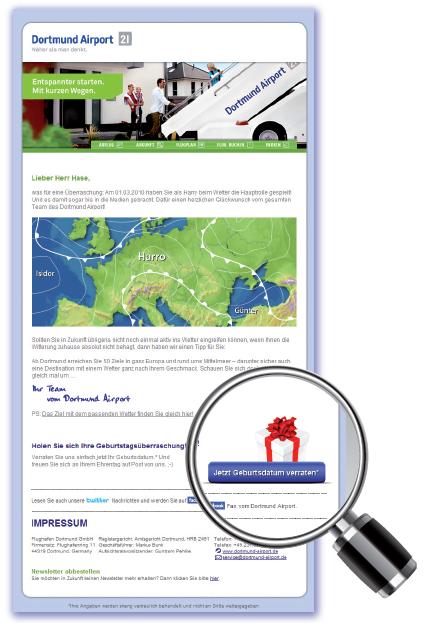 Datenqualifizierung Newsletter