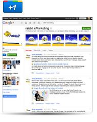 rabbit jetzt auch auf google+