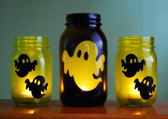 Mason Jars para Halloween