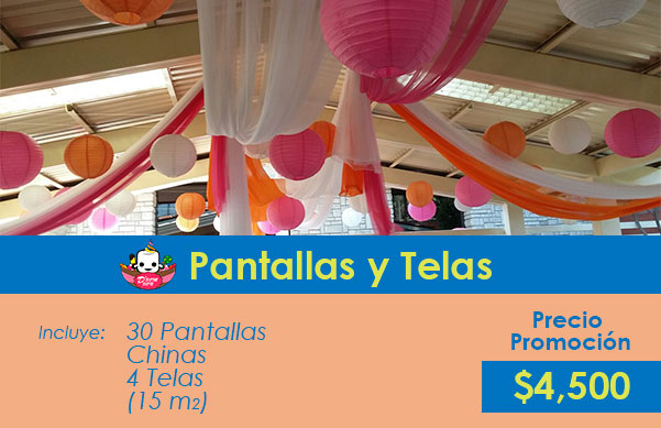 decoración telas y pantallas chinas df