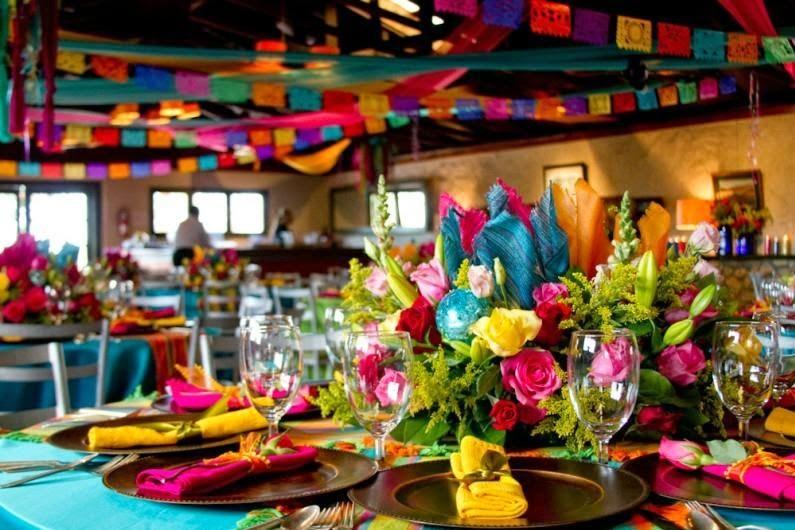 mesa fiesta mexicana
