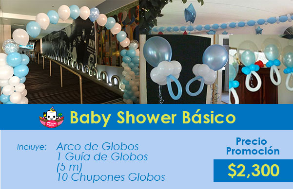 decoracion para baby shower cdmx