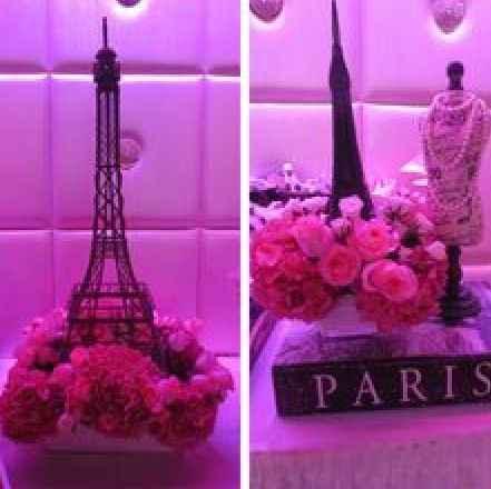 centros de mesa estilo paris