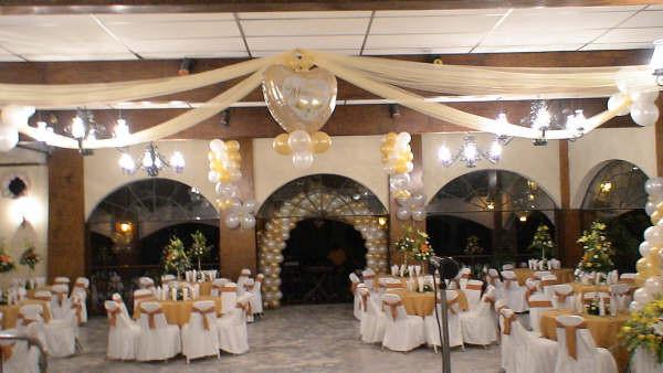 decoración con globos para boda - decoracion | eventos| globos