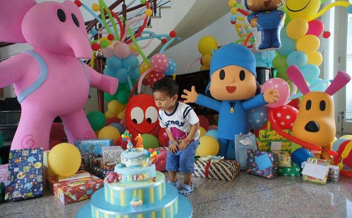 fiesta infantil tematica pocoyo