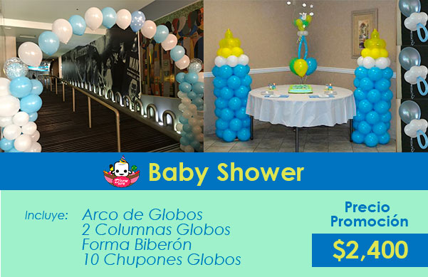 decorar baby shower cdmx