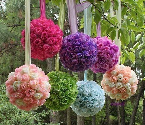 esferas de flores para eventos