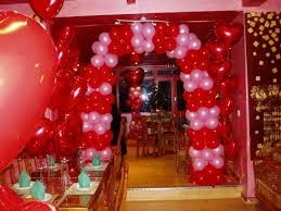 decoracion globos san valentin