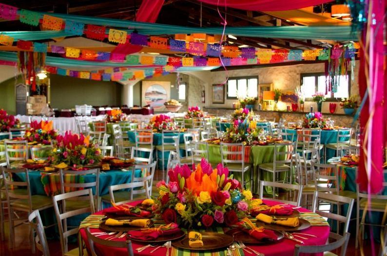 comida y decoracion mexicana