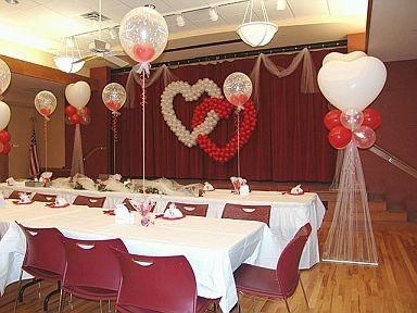 globos corazones y bodas