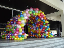 tunel globos