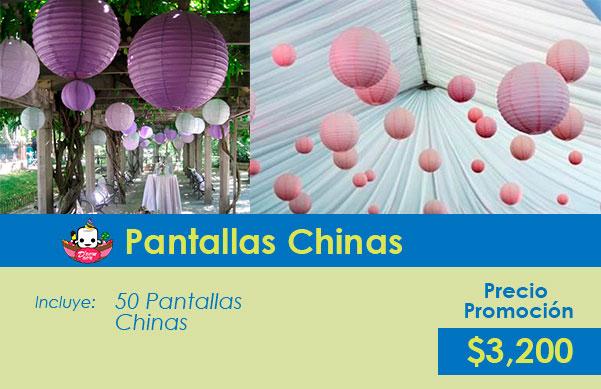 decoracion con pantallas chinas para fiesta